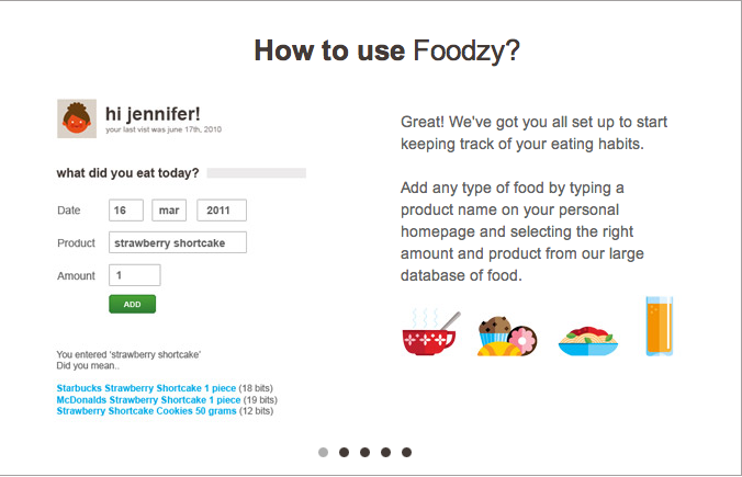 How to use Foodzy