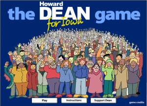 The Howard Dean For Iowa Game