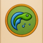 Tadpole badge