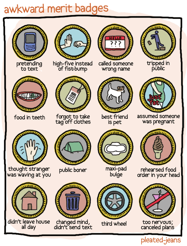 Awesome Awkward Merit Badges Gamification Co