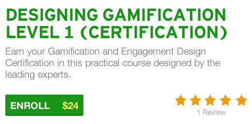Online Gamification Certification Course Now Available on Udemy - GCo